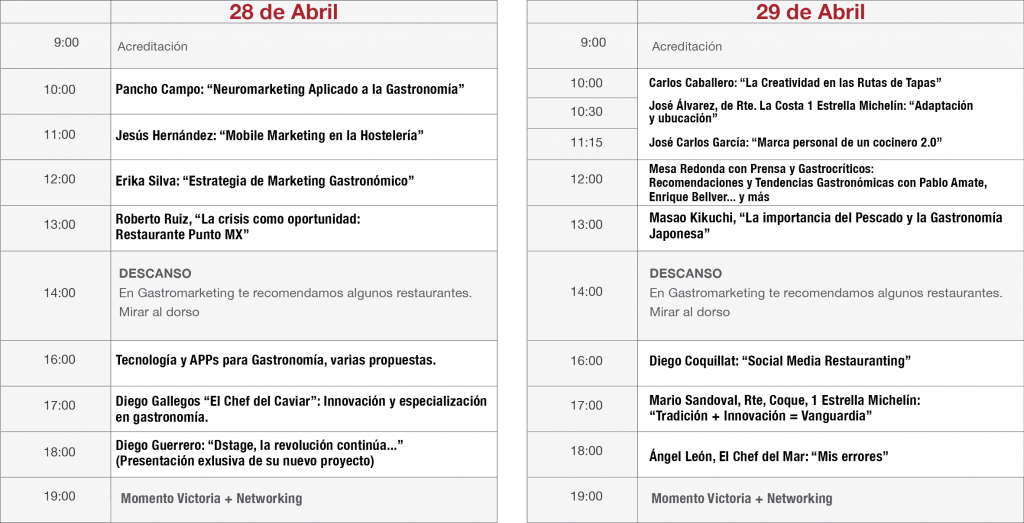 programa gastromarketing